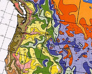Northwest Plant Hardiness Zone Map