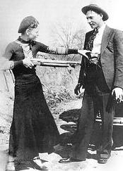 clyde barrows and bonnie parker