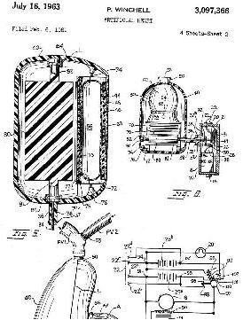 Winchell's artificial heart patent